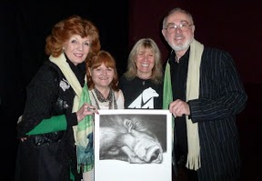 Rula Lenska, Lesley Nicol, Jill Robinson and Peter Egan